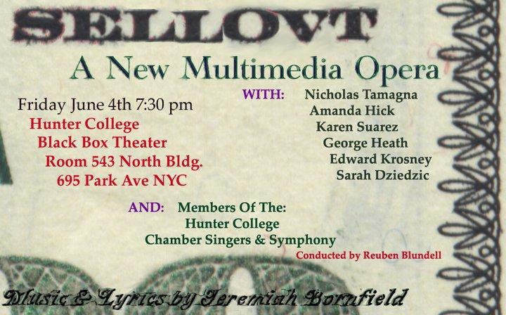 New Opera Premiere Flyer
